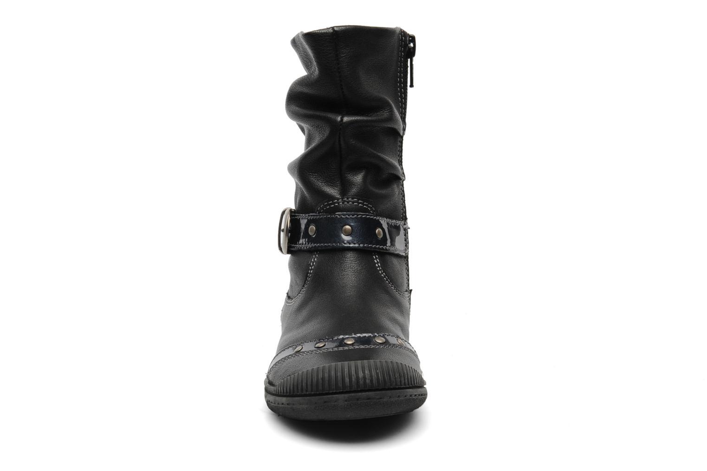 Bottines et boots Noël Pela Noir vue portées chaussures