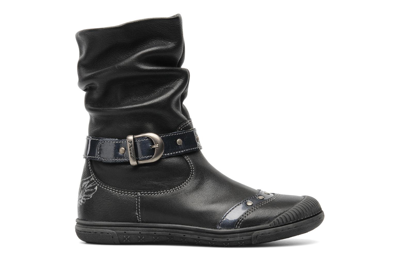 Bottines et boots Noël Pela Noir vue derrière