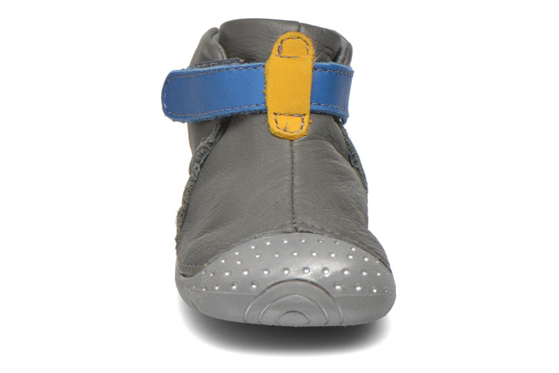 mit Klettverschluss Babybotte ZAK grau schuhe getragen
