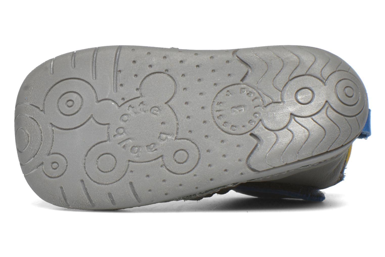 Zapatos con velcro Babybotte ZAK Gris vista de arriba