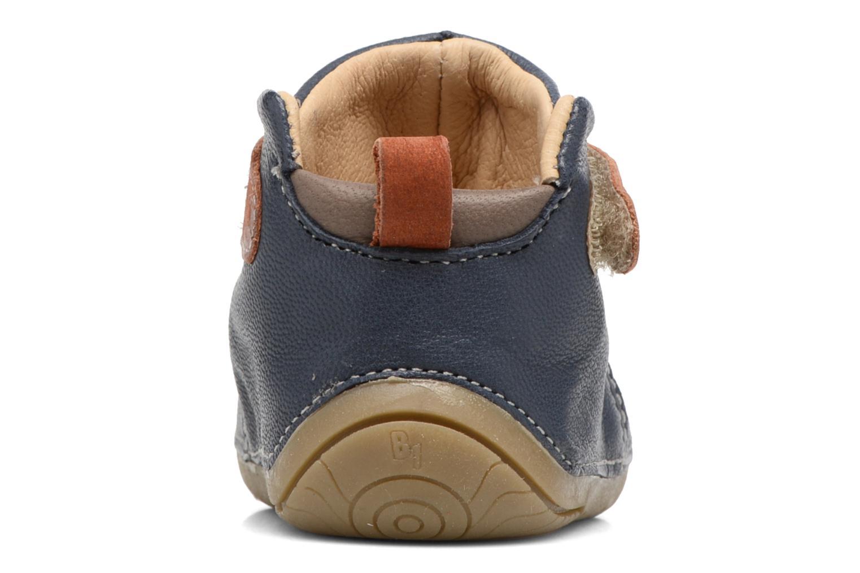 Scarpe con gli strappi Babybotte ZAK Azzurro immagine destra