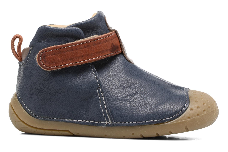 Scarpe con gli strappi Babybotte ZAK Azzurro immagine posteriore