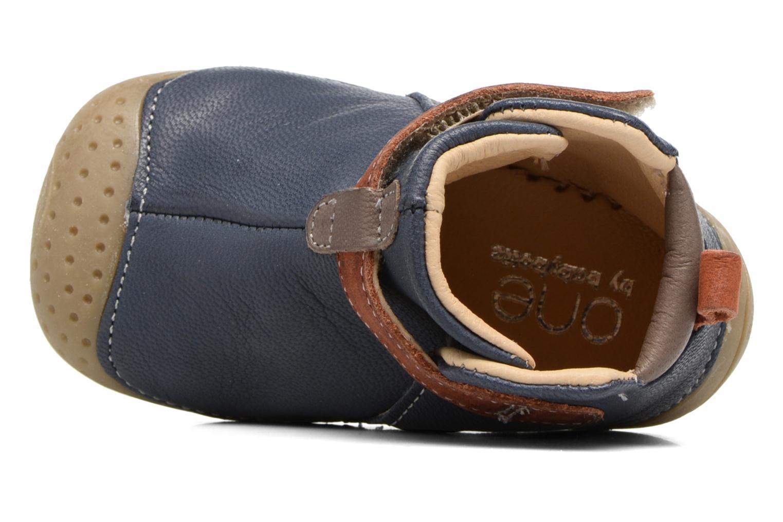 Scarpe con gli strappi Babybotte ZAK Azzurro immagine sinistra