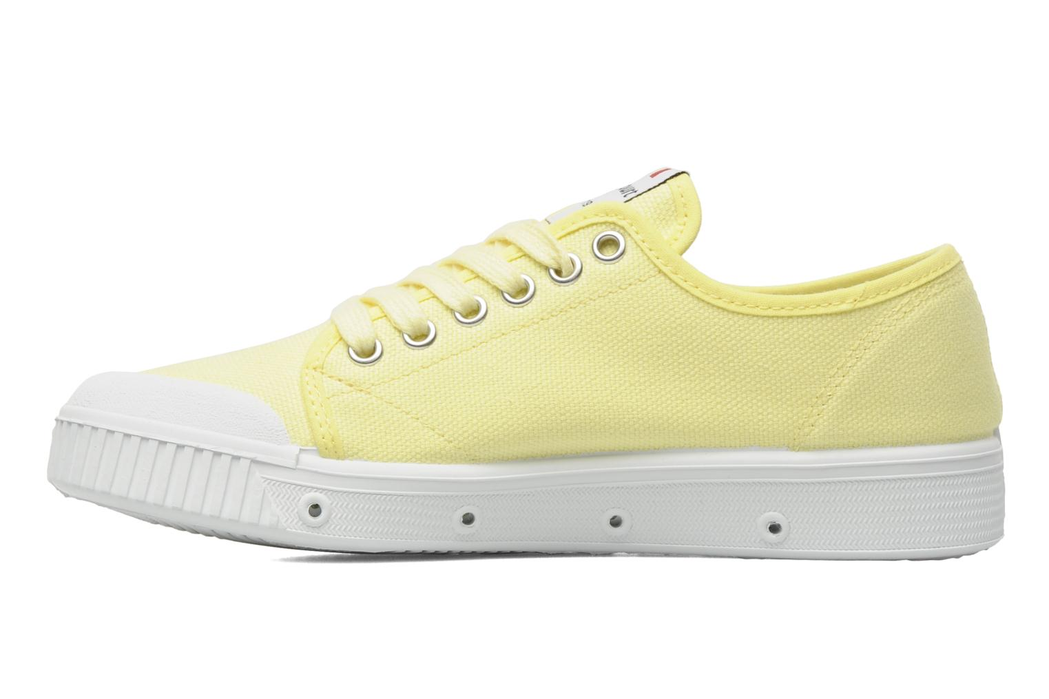 Sneakers Spring Court G2 CLASSIC F1 Geel voorkant
