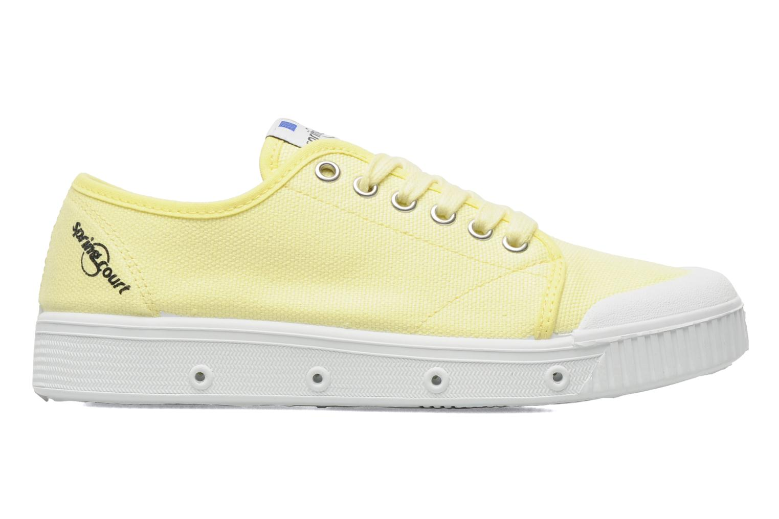 Sneakers Spring Court G2 CLASSIC F1 Geel achterkant