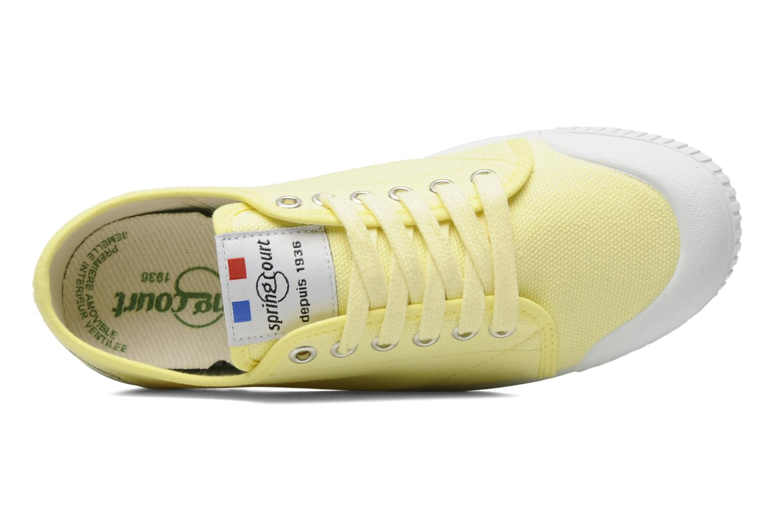 Sneakers Spring Court G2 CLASSIC F1 Geel links