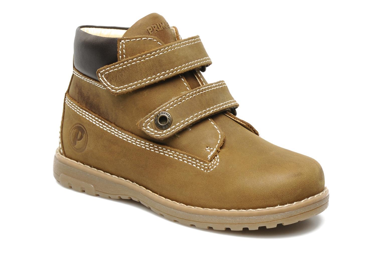 Ankelstøvler Primigi ASPY 1 Brun detaljeret billede af skoene