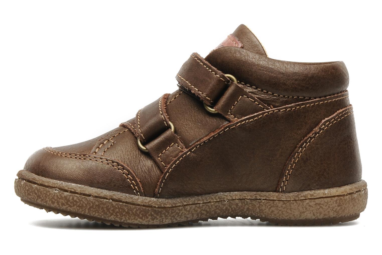 Chaussures à scratch Primigi SKIBBY-E Marron vue face