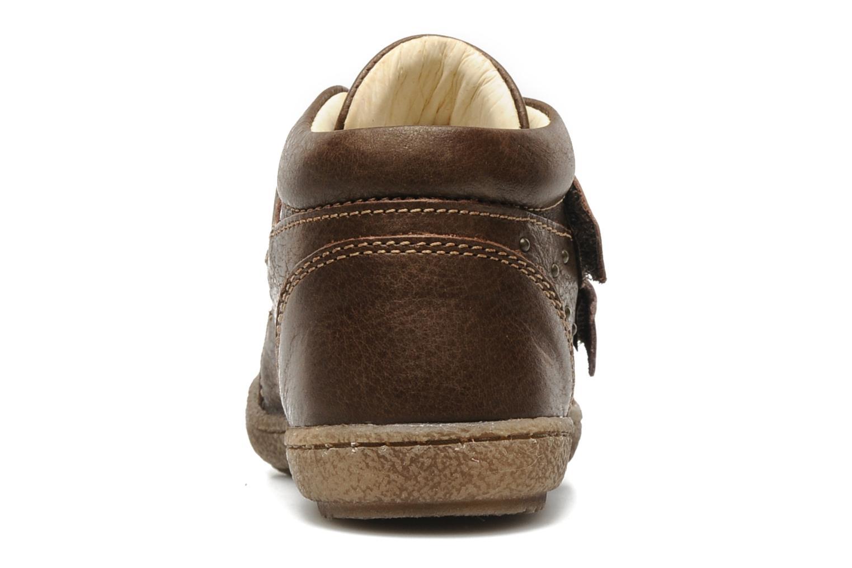 Chaussures à scratch Primigi SKIBBY-E Marron vue droite