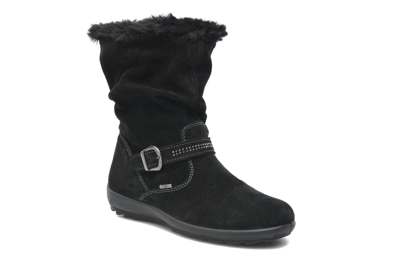 Bottines et boots Primigi Glossy GTX Noir vue 3/4
