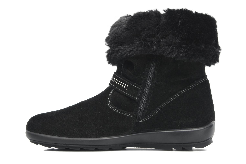 Stiefeletten & Boots Primigi Glossy GTX schwarz ansicht von vorne