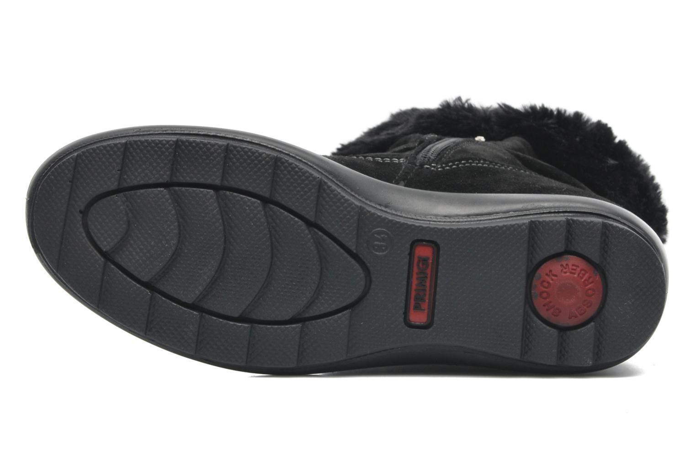 Bottines et boots Primigi Glossy GTX Noir vue haut