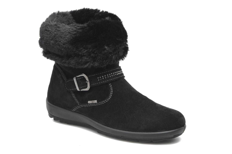 Bottines et boots Primigi Glossy GTX Noir vue détail/paire
