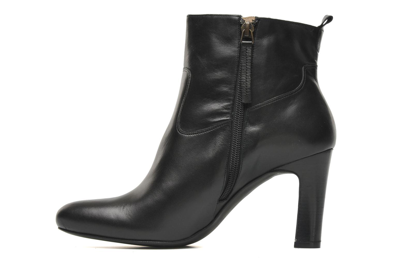 Boots en enkellaarsjes Bocage Gialo Zwart voorkant