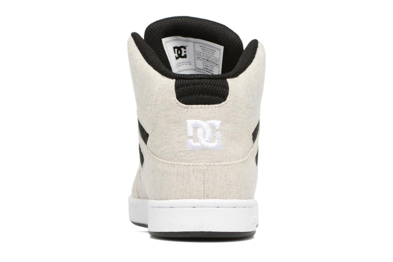 Deportivas DC Shoes REBOUND B Gris vista lateral derecha