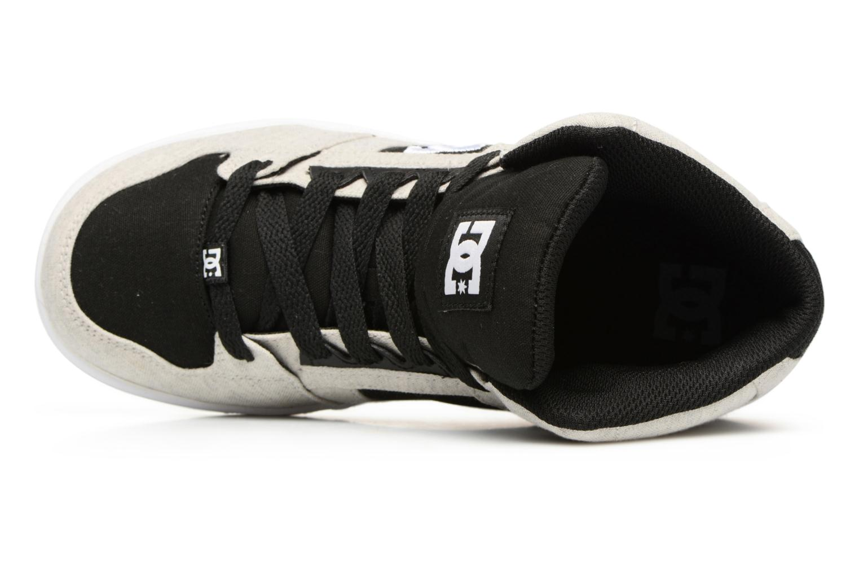 Deportivas DC Shoes REBOUND B Gris vista lateral izquierda