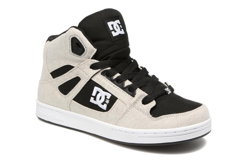 Deportivas DC Shoes REBOUND B Gris vista de detalle / par