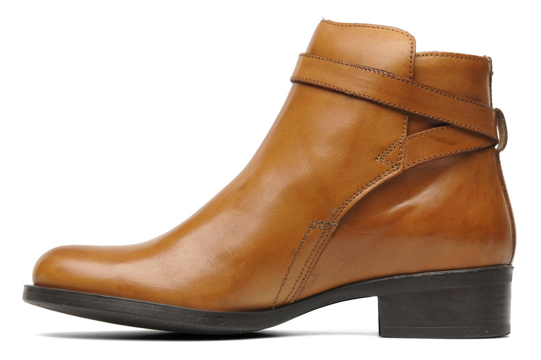 Boots en enkellaarsjes Jonak Ananas Bruin voorkant