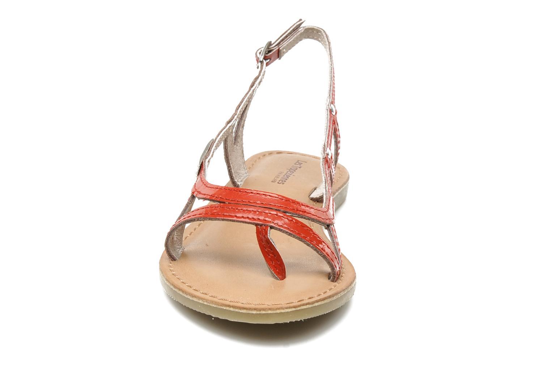 Sandali e scarpe aperte Les Tropéziennes par M Belarbi ISATIS E Rosso modello indossato