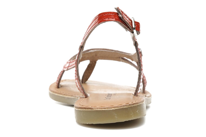 Sandaler Les Tropéziennes par M Belarbi ISATIS E Röd Bild från höger sidan