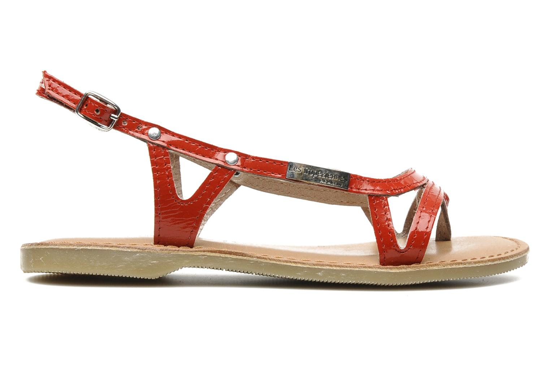 Sandalen Les Tropéziennes par M Belarbi ISATIS E rot ansicht von hinten