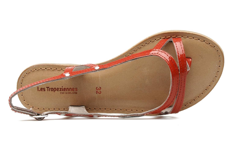 Sandals Les Tropéziennes par M Belarbi ISATIS E Red view from the left