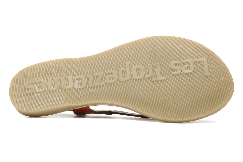 Sandales et nu-pieds Les Tropéziennes par M Belarbi ISATIS E Rouge vue haut
