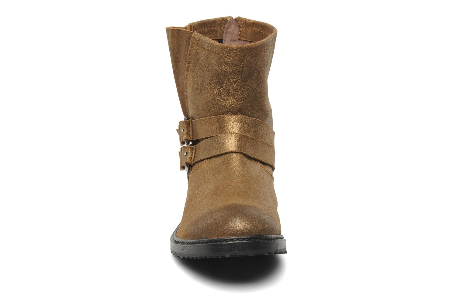 Ankle boots Any Boots Maryline Bronze and Gold model view