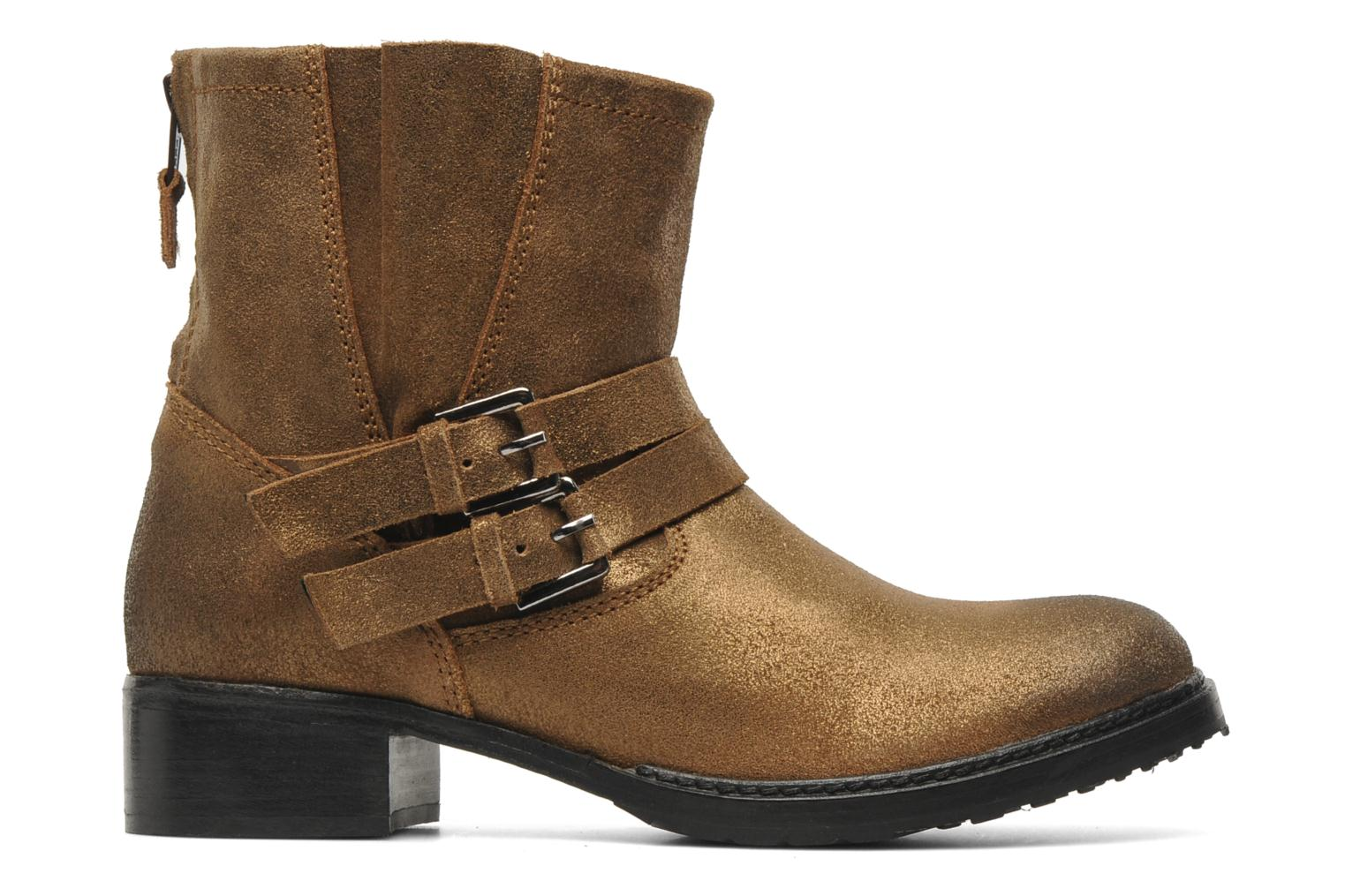 Ankle boots Any Boots Maryline Bronze and Gold back view