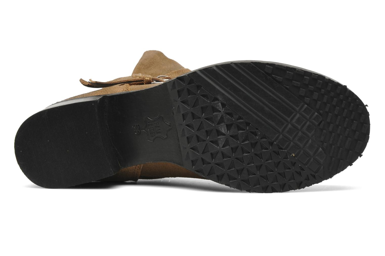 Bottines et boots Any Boots Maryline Or et bronze vue haut
