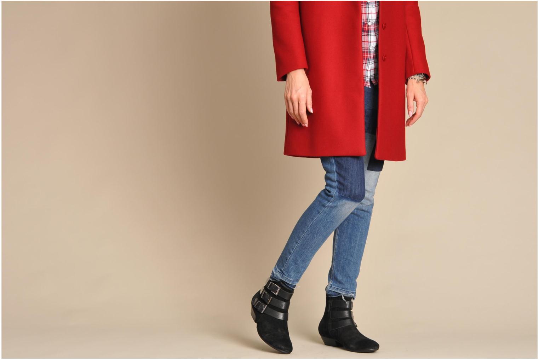 Bottines et boots Any Boots Marine Noir vue bas / vue portée sac