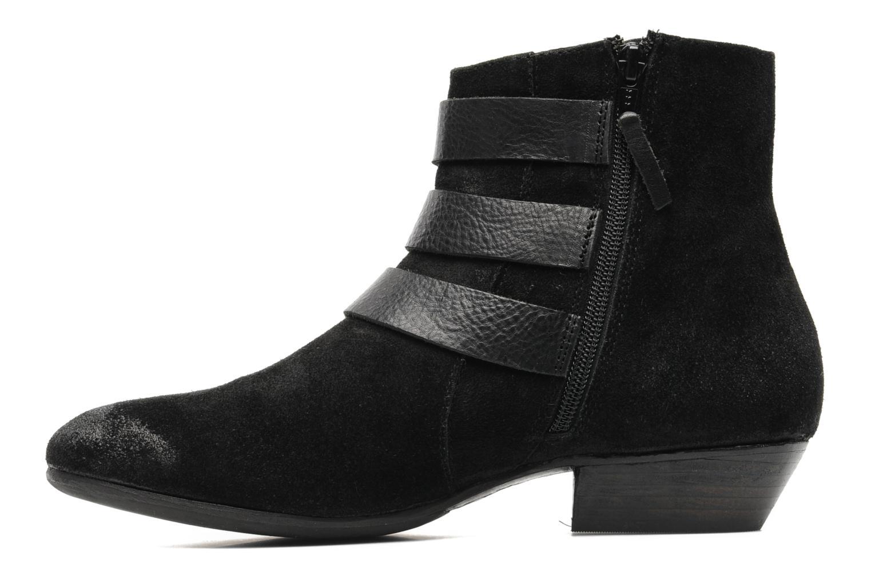 Bottines et boots Any Boots Marine Noir vue face
