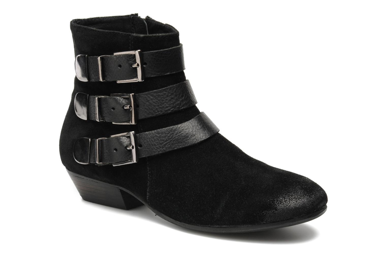 Bottines et boots Any Boots Marine Noir vue détail/paire