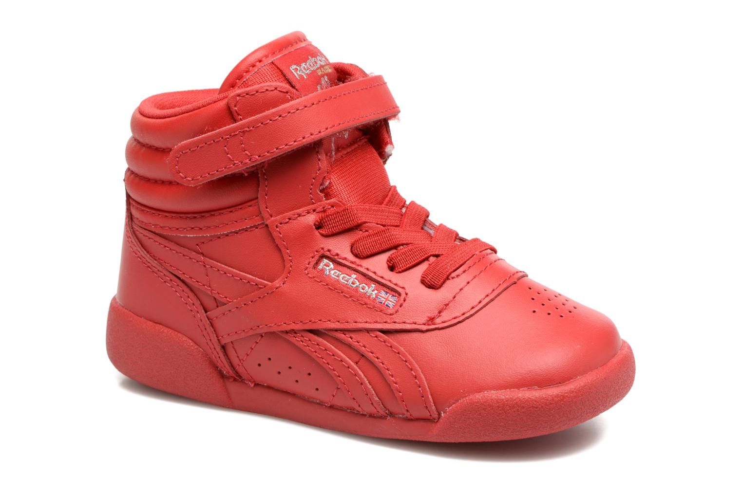 Trainers Reebok F/S Hi-E Red detailed view/ Pair view