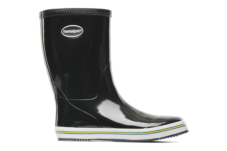 Boots en enkellaarsjes Havaianas Aqua Rain Boots Zwart achterkant