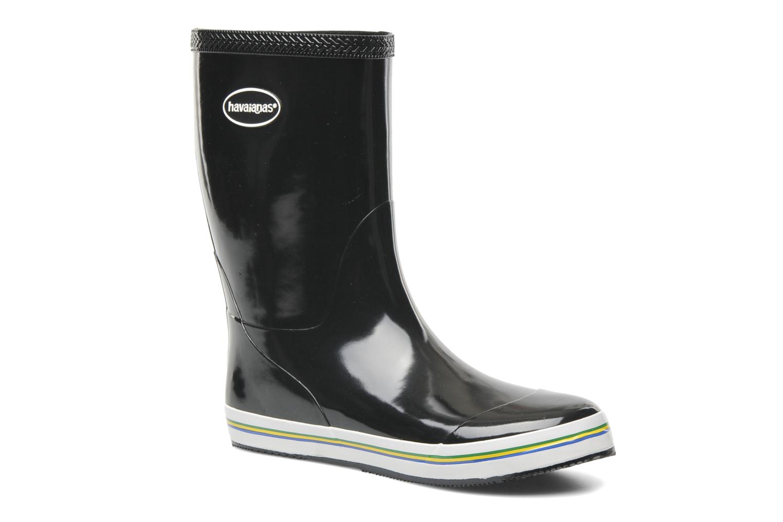Ankle boots Havaianas Aqua Rain Boots Black detailed view/ Pair view