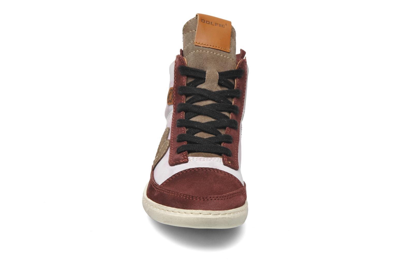 Baskets Dolfie Alan Bordeaux vue portées chaussures