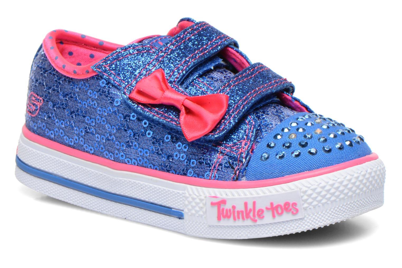 Deportivas Skechers Shuffles Sweet Steps Azul vista de detalle / par
