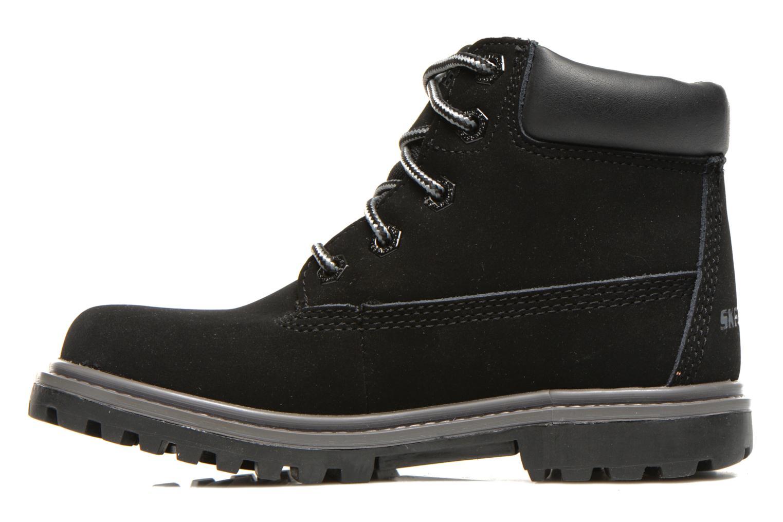 Boots en enkellaarsjes Skechers Mecca Lumberjack Zwart voorkant