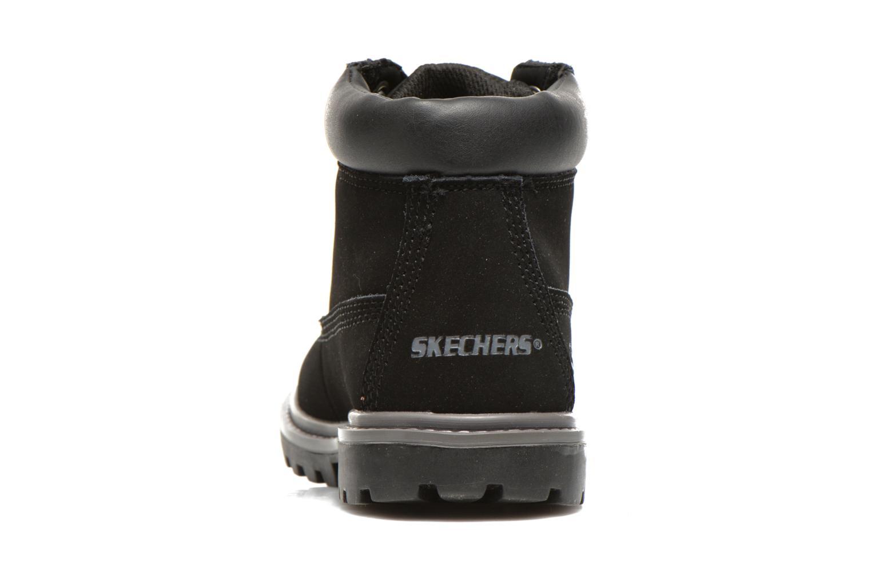 Stiefeletten & Boots Skechers Mecca Lumberjack schwarz ansicht von rechts