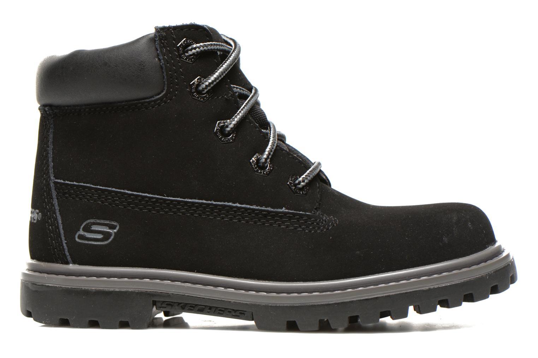 Boots en enkellaarsjes Skechers Mecca Lumberjack Zwart achterkant