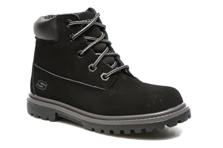 Boots en enkellaarsjes Skechers Mecca Lumberjack Zwart detail