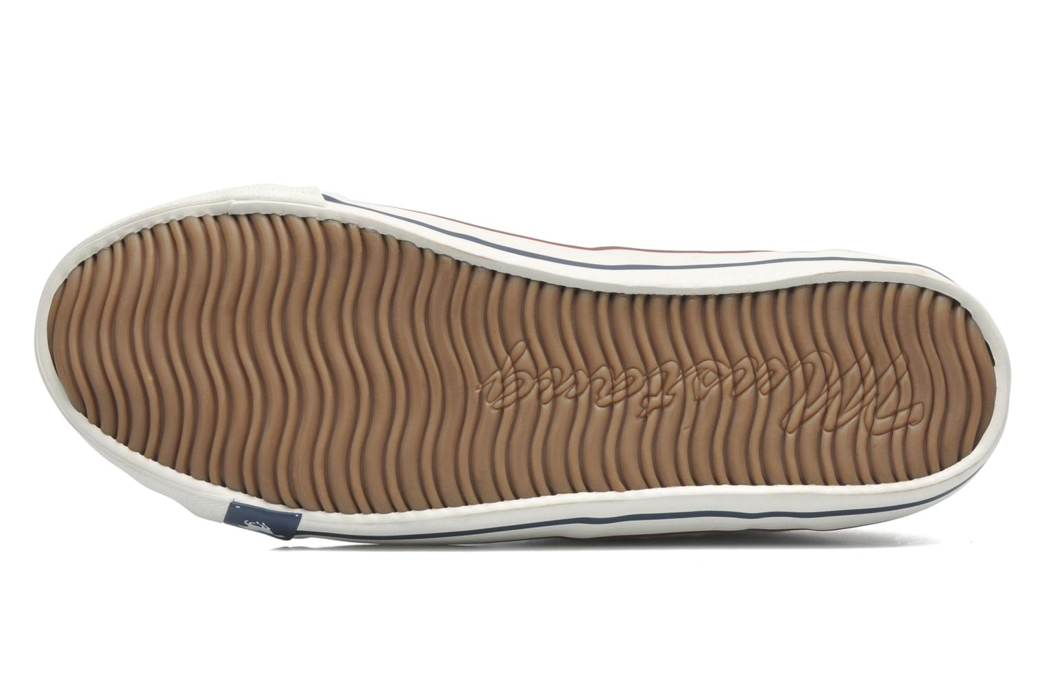 Trainers Mustang shoes Pitaya White view from above
