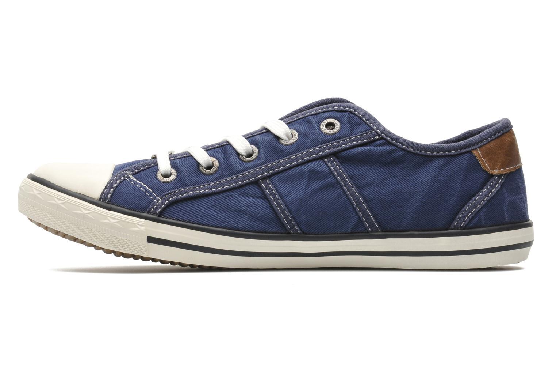 Sneaker Mustang shoes Pitaya blau ansicht von vorne