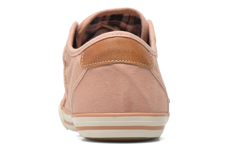 Baskets Mustang shoes Pitaya Orange vue droite