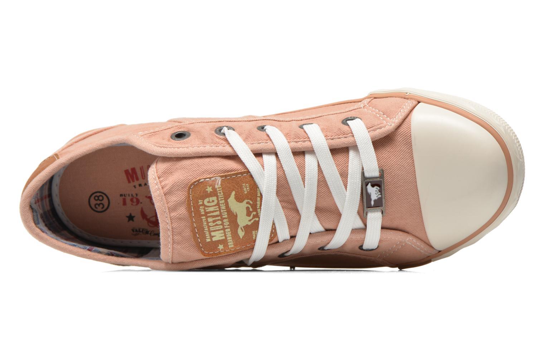 Sneakers Mustang shoes Pitaya Oranje links