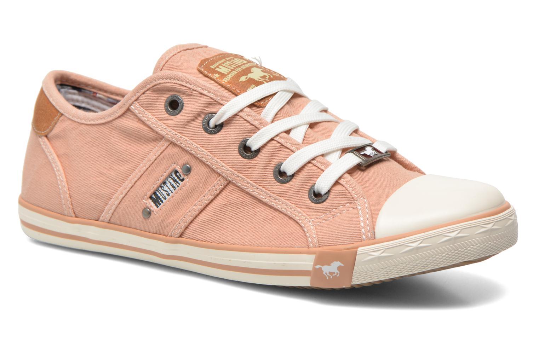 Baskets Mustang shoes Pitaya Orange vue détail/paire