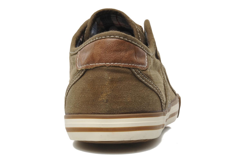 Sneaker Mustang shoes Tista braun ansicht von rechts