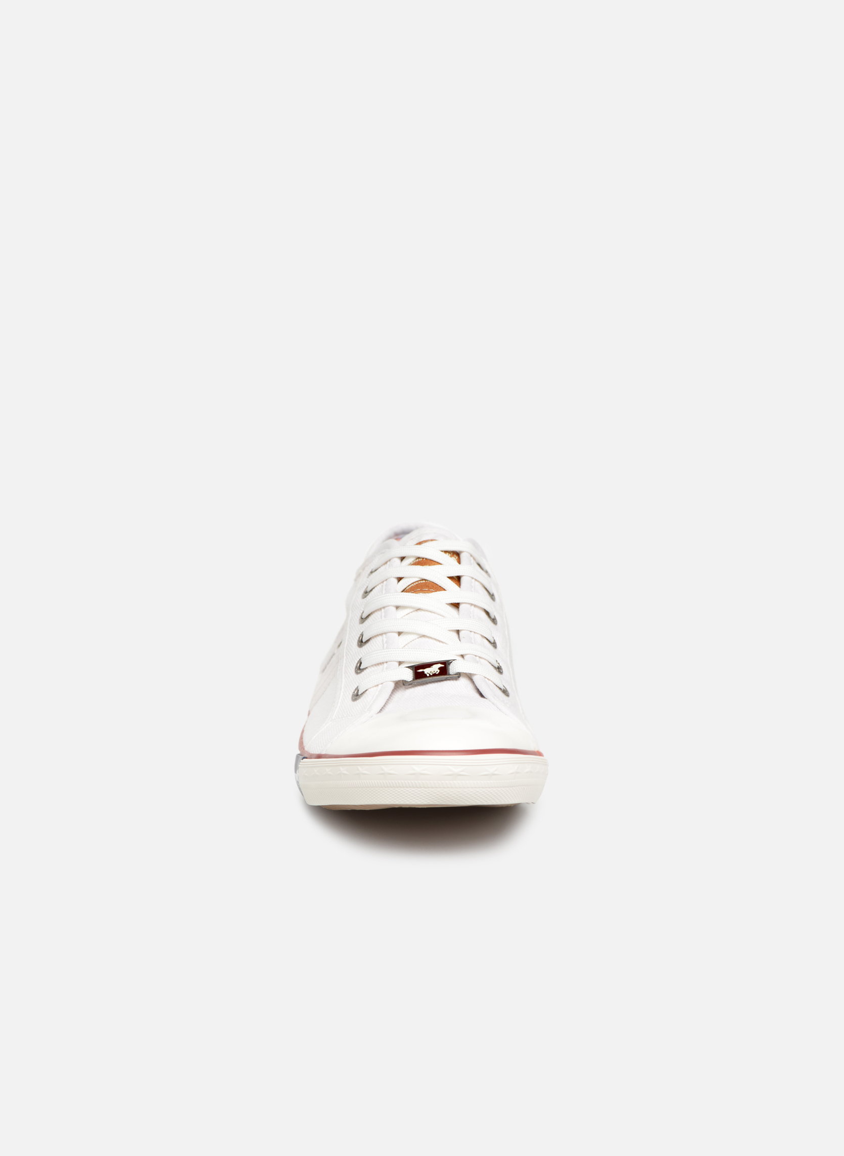 Baskets Mustang shoes Tista Blanc vue portées chaussures