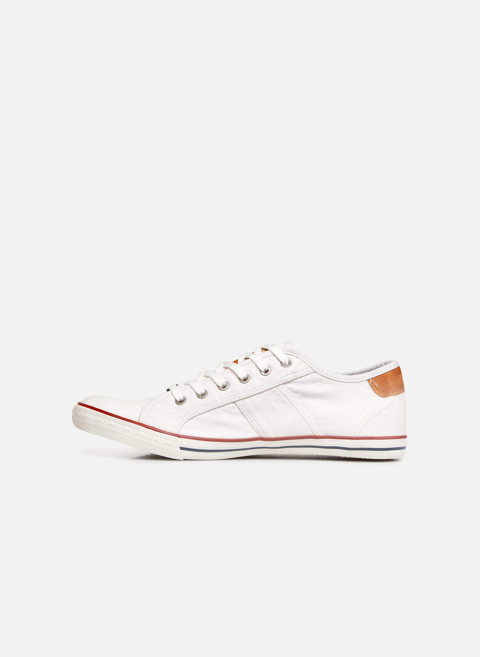 Sneakers Mustang shoes Tista Wit voorkant